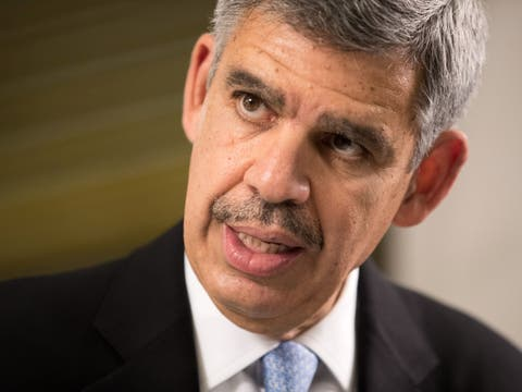 «We have weaponized the economic tools, and the minute you do that, it's very hard to step back»: Mohamed El-ErianBild: Nicky Loh/Bloomberg
