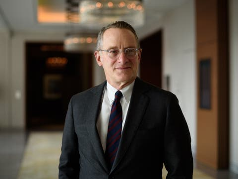 «The riskiest thing in the world is to believe that there is no risk.»: Howard Marks.Bild: Akio Kon/Bloomberg
