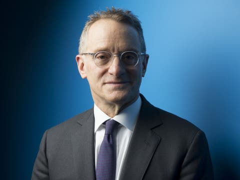 Howard Marks: «I don't know what the stock market is going to do in a day, a week, a month or a year. Anybody who claims he does has to get his brain examined.»Photo:Brent Lewin/Bloomberg
