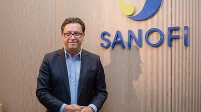 Paul Hudson, CEO von Sanofi ((Bild: Bloomberg))