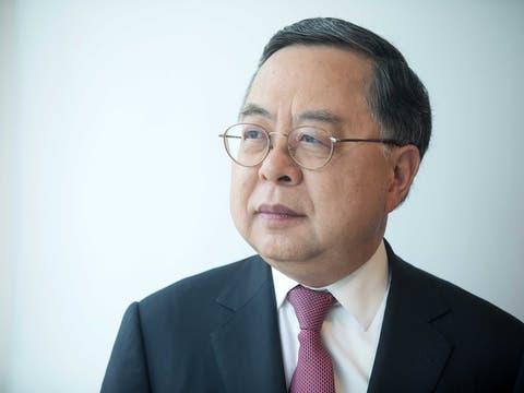 «Sie erwarten, dass sich China wie ein Heiliger verhält? Das wird nicht geschehen»: Ronnie C. Chan. (Bild: Paul Yeung/Bloomberg)
